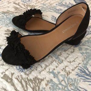 Dressy Suede Sandals